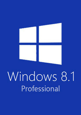 Win 8.1 Pro 32/64 Bits Original Multilanguage Digital Key Windows