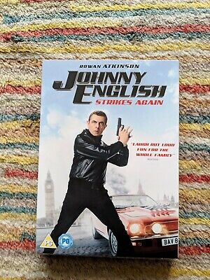 Johnny English Strikes Again (DVD + Digital Copy) [2018] [New DVD]