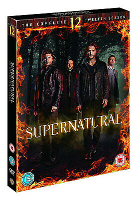 SUPERNATURAL COMPLETE SERIES 12 DVD All Episodes Twelfth Season Original UK new