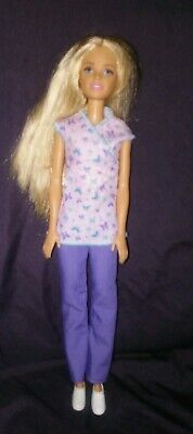 Barbie Careers Nurse with Purple Outfit