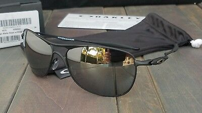 32dccd9645 New Oakley CROSSHAIR Sunglasses 4060-03 Matte Black Frame w Black Iridium  Lenses
