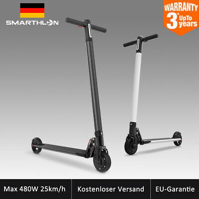 Max 480w 20km/H Smarthlon Scooter Eléctrico Eléctrica Led Patinete Support