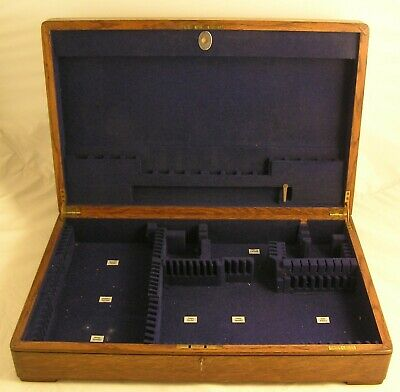 Vintage Mappin & Webb 8 Place Setting Empty Cutlery Canteen to hold 79 Pieces