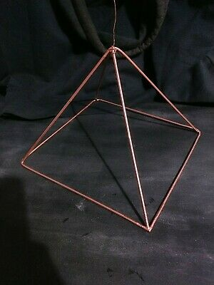 COPPER PYRAMID FOR meditation and energy channeling - $40 00