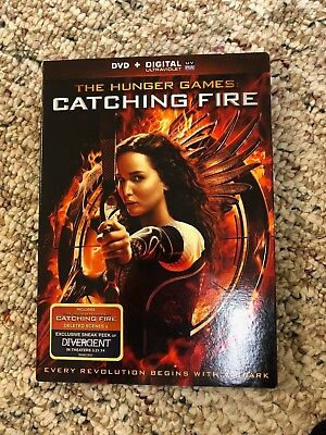 The HUNGER GAMES CATCHING FIRE DVD+Ultraviolet