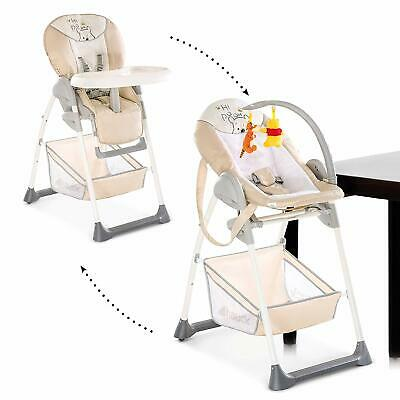 NEW Hauck Disney Winnie the Pooh Cuddles Sit'n Relax Zoomy Baby Highchair+Bungee
