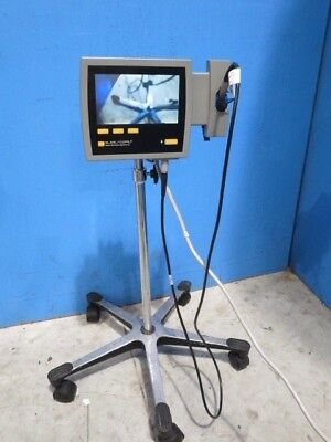 Verathon / Saturn Portable Glidescope System with reusable baton and cart