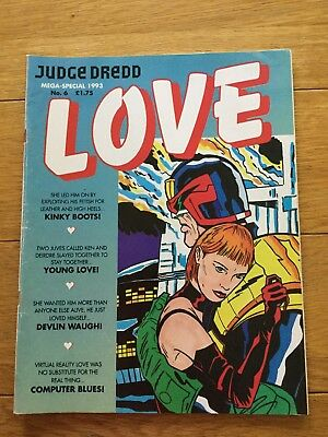 Judge Dredd Mega special 1993 Number 6