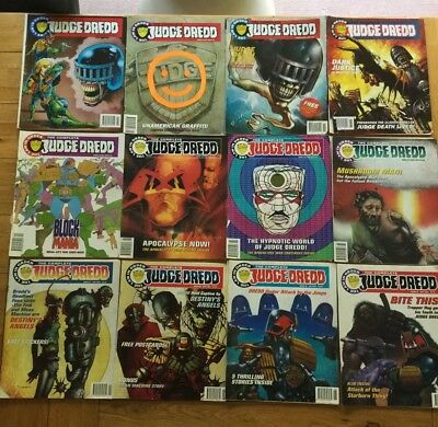 The Complete Judge Dredd Comics 1993/ 1994 The Law in Order Issues 14, 20 - 30