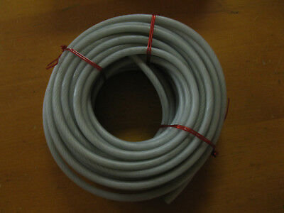 """50' Dayton Nylon Coated Galvanized Steel Wire Rope 7X19 Strands 3/16"""" Cable 5/16"""