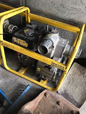 Wacker Neuson Water Pump