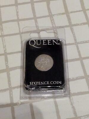 Brian May We will rock you 2004 Sixpence Coin