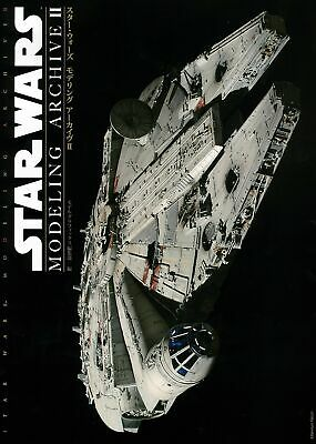 NEW STAR WARS MODELING ARCHIVE 2 Japanese Book PG 1/72 MILLENNIUM FALCON Plastic