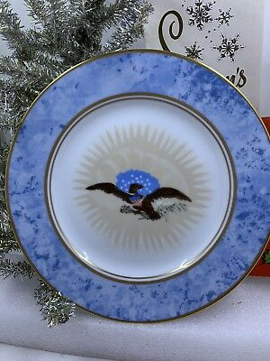Woodmere 1986 White House China Andrew Jackson Plate & Hanger
