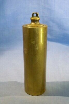 Antique Filled Brass Weight For Longcase Clock