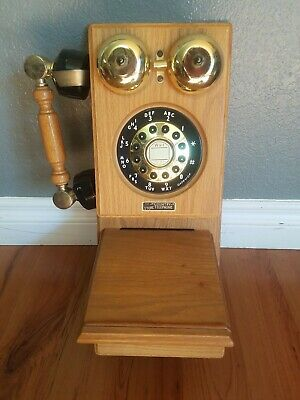 Country Store Telephone Model HAC WP 800 Touch Tone Solid Oak, Pre-owned