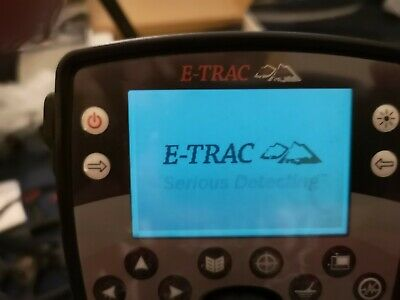 Minelab etrac metal detector boxed with extras