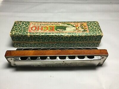 The Echo M.hohner Harmonika Made In Germany With Orginal Box Nice