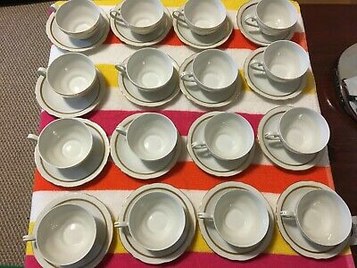 """Vintage lot  """"Fine Bohemian China"""" Cup & Saucer / Made in Czechoslovakia"""