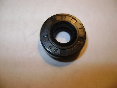 New Tc 8X20X7 Double Lips Metric Oil / Dust Seal With Garter Spring