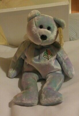 25fbadf41d3 TY BEANIE BABY - ISSY the Four-Seasons Hotel Bear ( Maldives ) (8.5 ...