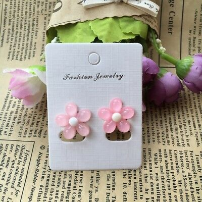 2pcs=1pair Children cartoon Gift resin Girls Baby No Pierced Earrings Ear Clips