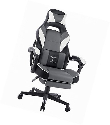 TOPSKY High Back Racing Style Executive Computer Gaming Office Chair Ergonomic R