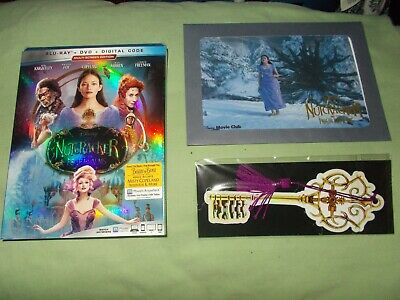The Nutcracker and the Four Realms (Blu-ray/DVD, Includes Digital Code) & Litho