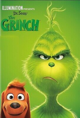 The Grinch (2018) Brand New-Comedy, Family, Fantasy, Animation