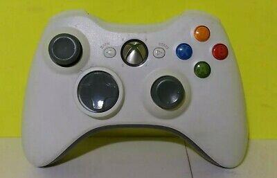 Official Microsoft Xbox 360 WHITE Wireless Controller Genuine Original OEM