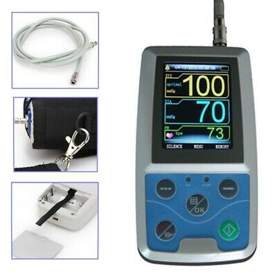 Contec NIBP Monitor 24Hr Ambulatory Blood Pressure Holter USB PC Software FDA CE