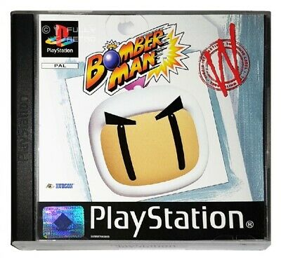 BOMBERMAN (PS1 Game) Playstation Bomber Man A