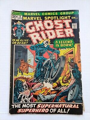 Marvel Spotlight #5-11 - Premiere of GHOSTRIDER - $.99 Auction!