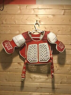 Vintage FOX CHEST PROTECTOR ROOST GUARD 1990'S MX RACING
