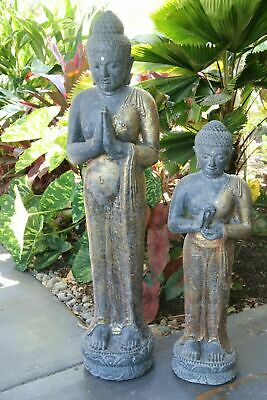NEW Balinese Cast Buddha Statue - choose from 2 sizes - Standing Balinese Buddha