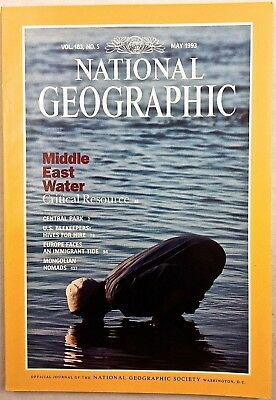 National Geographic 1992 May Indias Wildlife Solar Eclipse Georgia DNA Testing