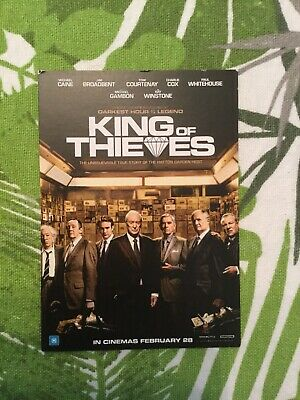 KING OF THIEVES Double Movie Pass / Cinema Tickets Admit 2