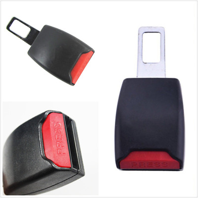 Car SUV Safety Seatbelt Buckle Insert Clip Extender Extention Alarm Stopper 22mm