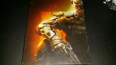 Call of Duty Black ops 3 Steel Book PS4 Free Shipping!!!