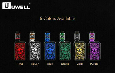 Uwell Crown 4(IV) 5ml/6ml 200W TC Kit E-Zigaretten E-Shisha NEU Orginal