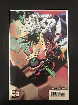 Marvel Comics The Unstoppable Wasp #3 A Cover VF/NM 2019 1st Print