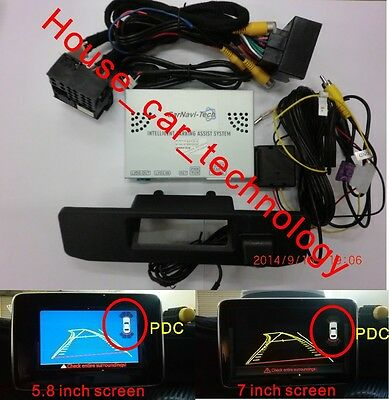 Mercedes PAS+PDC with handle rear view camera for ML-CLASS(W166) AUDIO20 NTG4.5