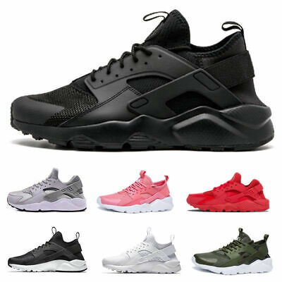 MEN'S Huarache TRAINERS CASUAL SHOES SPORTS RUNNING GYM SHOES BREATHABLE UK 12