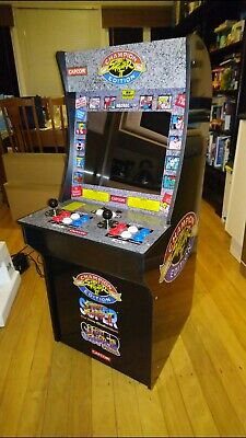 1Up Street Fighter Combo Arcade Machine