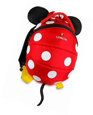 Littlelife Disney Minnie//Mickey Toddlers Rucksack with Safety Rein 1-3 Years
