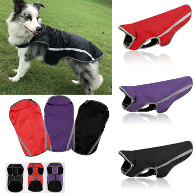 Winter Warm Padded Dog Clothes Waterproof Pet Coats Vest Jacket for Dogs 5 Size