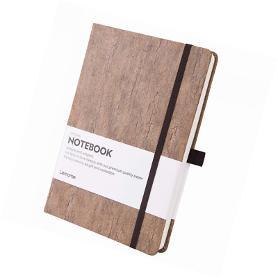 Dotted Bullet Journal/Notebook - Eco-Friendly Natural Cork Hardcover Dot Grid No
