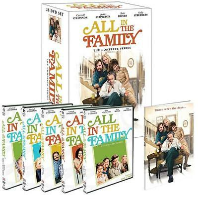 All In The Family: The Complete Series Season 1-9 (DVD, 28-Disc Box Set) Sealed