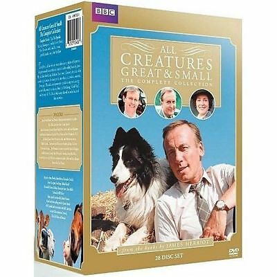 All Creatures Great and Small: The Complete Collection Season 1-7 (DVD 28-Disc)