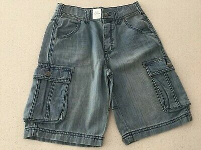 BOYS TARGET COTTON DENIM SHORTS - Size 10 (NEW)